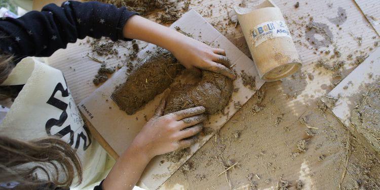 Bioconstrucción para niñas y niños